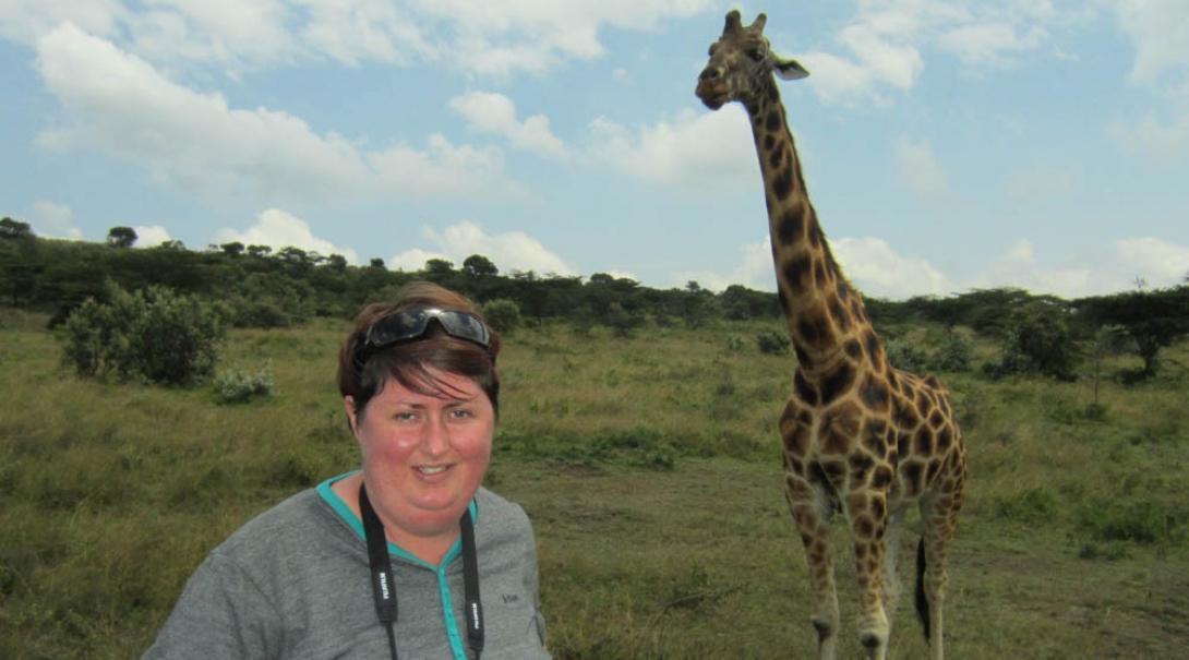 Claire K in Kenya